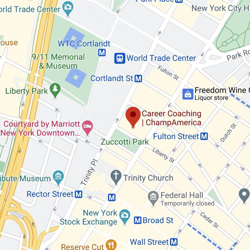 ChampAmerica office Google Maps